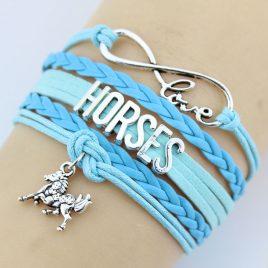 Horse Bracelets 4 Colors